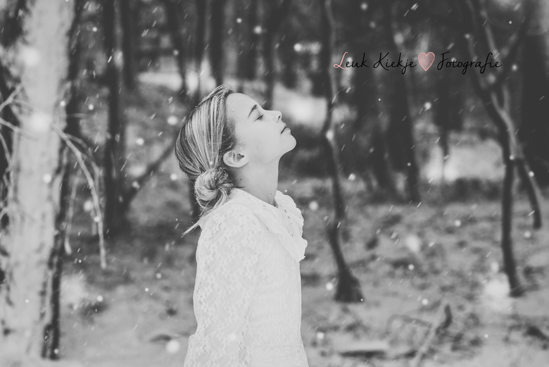 Snow is just confetti from the sky...