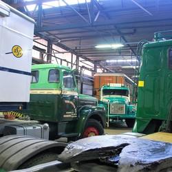 Vrachtwagens.