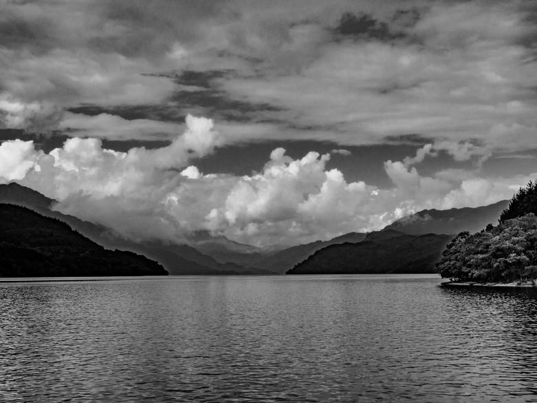 Looking North over Loch Lomond