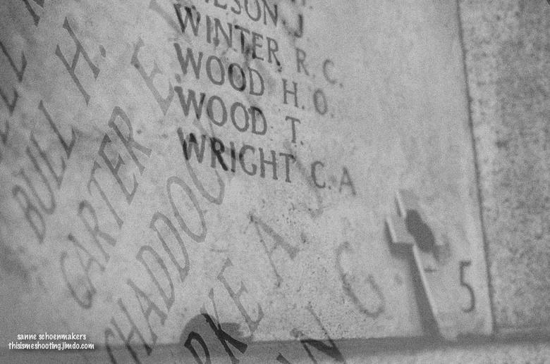 Those who fell... - Het monument ter nagedachtenis aan alle slachtoffers van de 1ste Wereldoorlog in Ieper, Belgie<br /> Het momument bestaat uit een