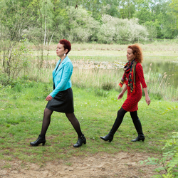 Eeneiige tweeling Béatrice en Ellen 1