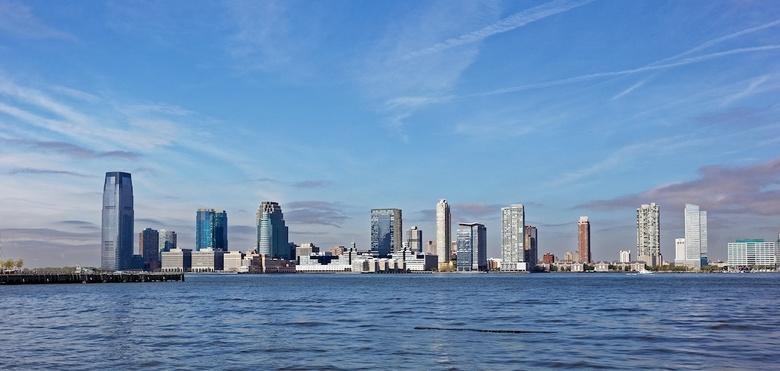 New Jersey 1 - Blik op hoboken, Jersey City, New Jersey