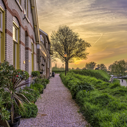 Sundown @rijkswal Woudrichem