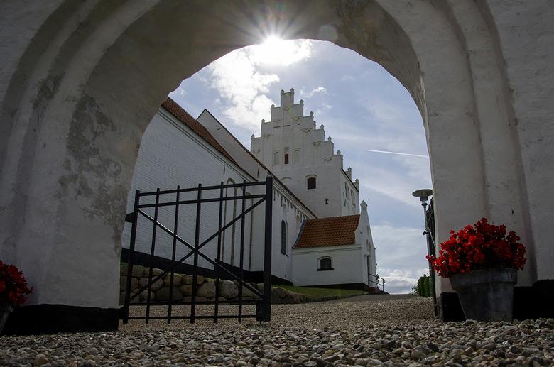 Kirke Kaerum - Het kerkje van Kaerum (ZW-Funen/Denemarken).