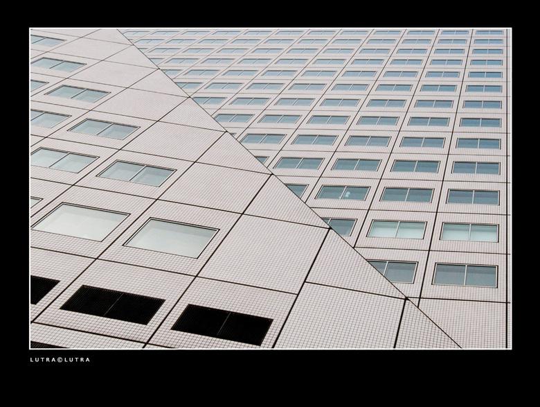 Willemswerf..02 - de dynamische gevel van de Willemswerf in Rotterdam...