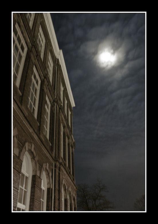 Oude school -