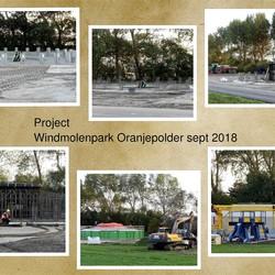 collage   Project  Windmolenpark    Oranjepolder sept  Okt   2018