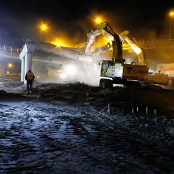 slopers, 's nachts aan het werk