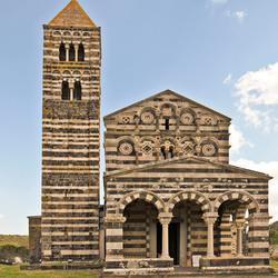 Oud Kerkje bij  Ploaghe op Sardinie