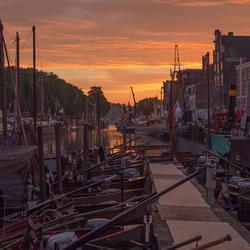 Dordrecht in de ochtend
