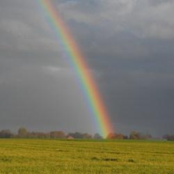 Regenboog  (geen Photoshop)