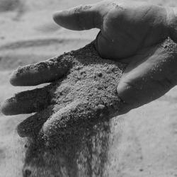 feeling of sand