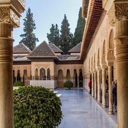 Alhambra binnenzijde paleis