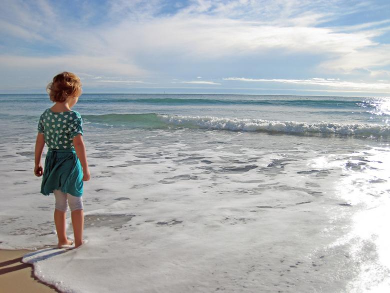 Giulia aan zee - Giulia aan zee op vakantie