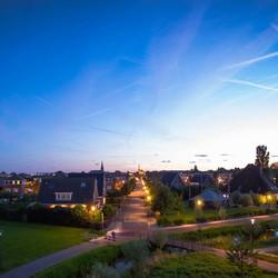 Zonsondergang in Schagen