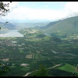Caldonazzo-meer en Levico-meer,Italië