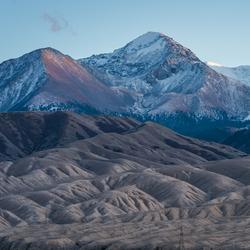 Kyrgyz mountains.