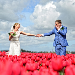 Tulips wedding
