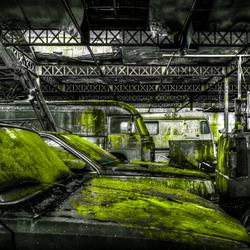 De groene garage