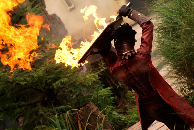 Vuur - Vechten met een draak is zeker spectaculair
