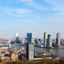 Uitzicht vanaf de Euromast Rotterdam