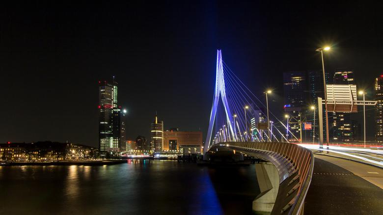 Erasmusbrug - Eindelijk weer tijd om de foto's van de zoomavond in Rotterdam na te kijken....het was me een weekje wel die renovatie ben nu bijna