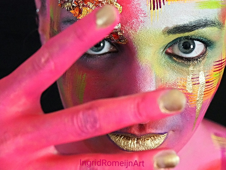 Make-up is Art, Beauty is Spirit - The prettiest eyes sparkle from the inside ou