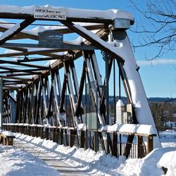 Bridge in Quesnel, BC