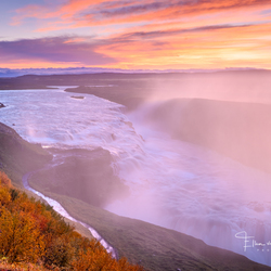 Colorful Gullfoss