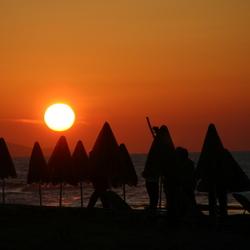 Kretenser zonsondergang