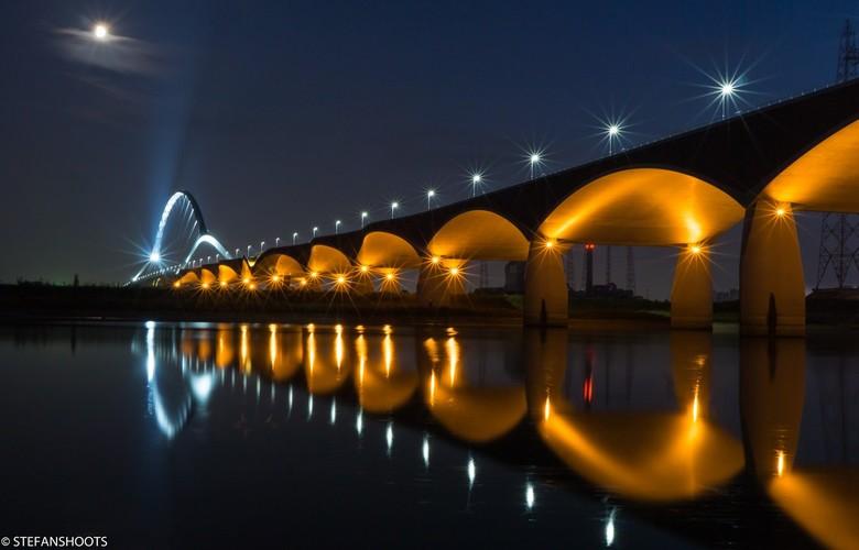 De Oversteek Brug in Nijmegen