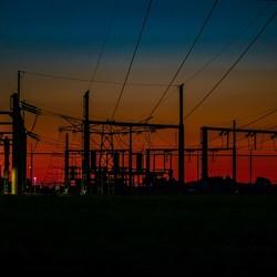 Verdeelstation voor electriciteit
