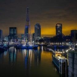 Rotterdam skyline HDR