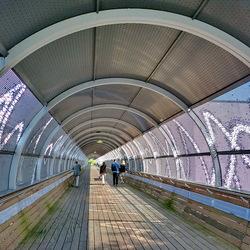 Loopbrug Media Park.