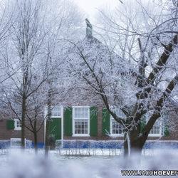 Winterwonderland in Rouveen