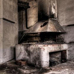 het vuur is gedoofd in deze Duitse weverij