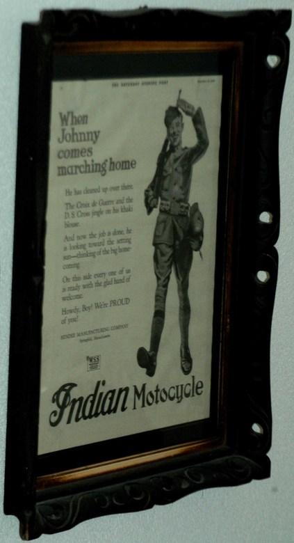 When Johnny comes marching home... - Alles in leven is gerelateerd aan tijd. Dit historisch document dateert van direct na WO 2 en de manier waarop de