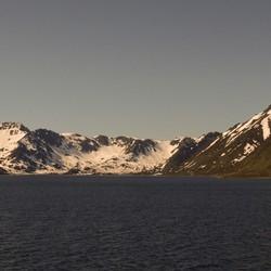 uitzicht vanaf Huttigrutten postboot