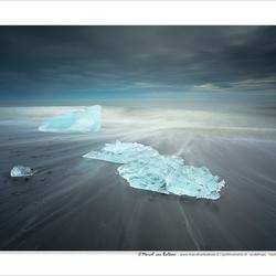 Jökulsárlón ice formations