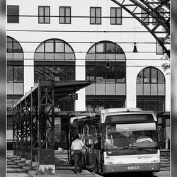 De bus vertrek zo...!