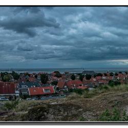 panorama avondlijk West met Brandaris