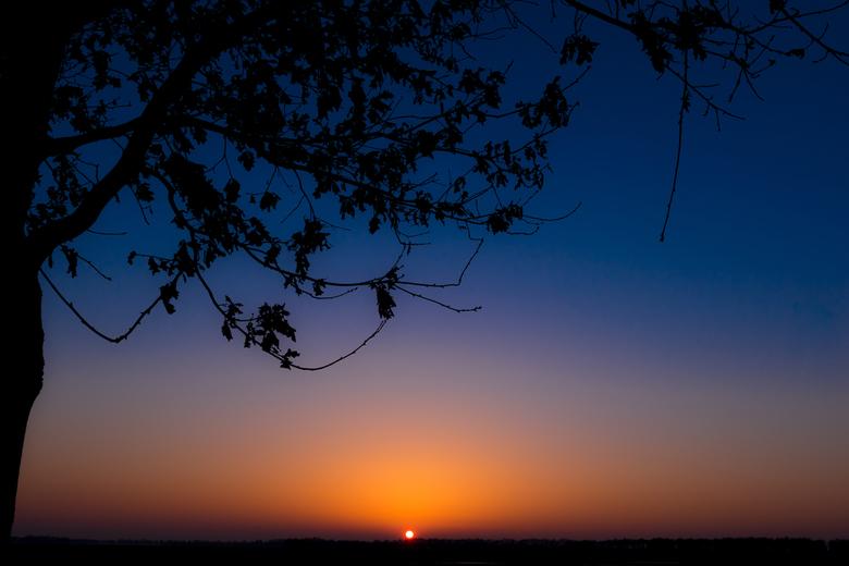 Sunset 14 februari