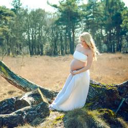 Lenteshoot zwangerschap
