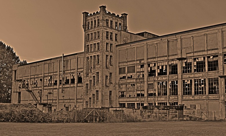 oude textielfabriek Gronau - Oude fabriek Gronau