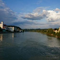 River Inn bij Passau