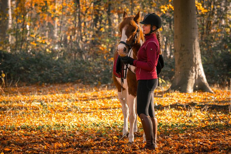 Meisje met paard - Meisje met haar paard