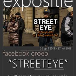 Straatfoto expositie
