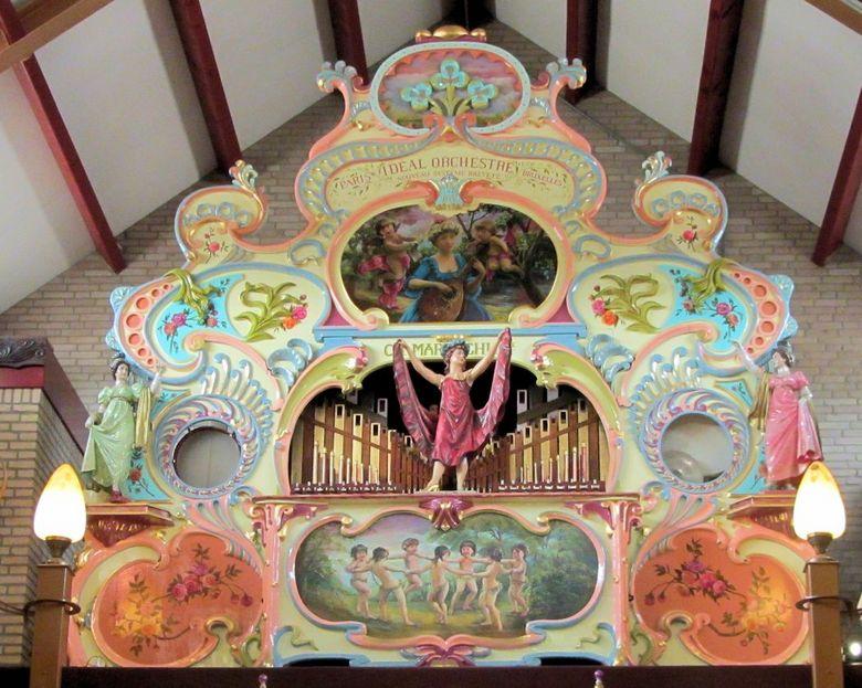 Orgel - Museum in Hilvarenbeek. Rond de jaren<br /> 1900__1920