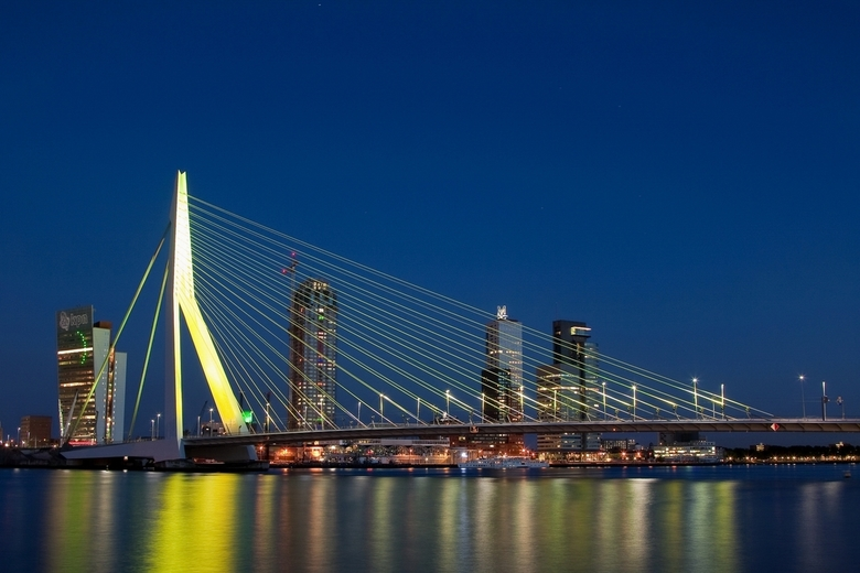 Rotterdam at night - Rotterdam at night