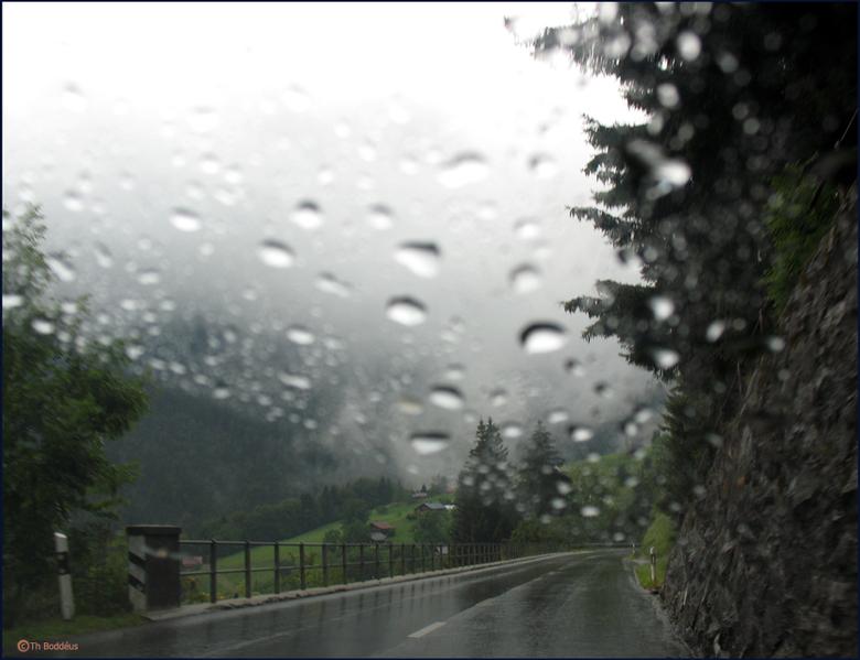 vakantiefoto - onderweg in zwitserland